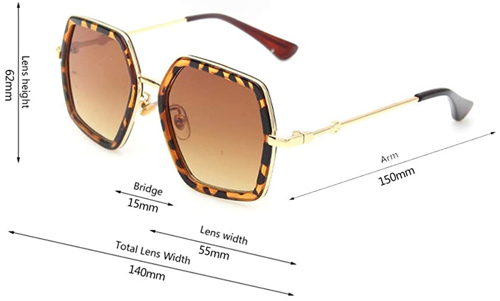 Oversized Square Sunglasses Women Vintage UV Protection?irregular Brand Designer Shades