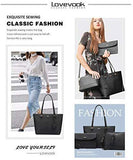 Handbags for Women Tote Bag Fashion Satchel Purse Set Hobo Shoulder Bags Designer Purses 3PCS PU Top Handle Structured Gift