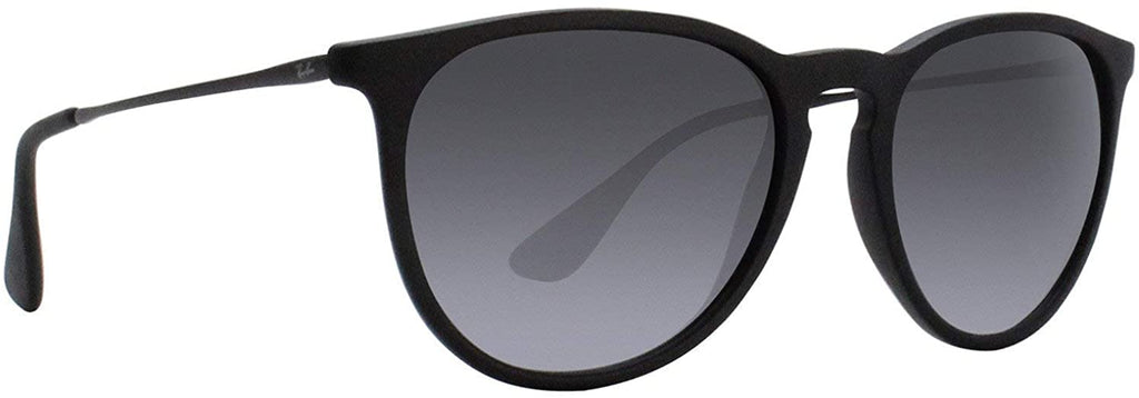 Erika Sunglasses Matte Black w/Grey Gradient 54mm Authentic