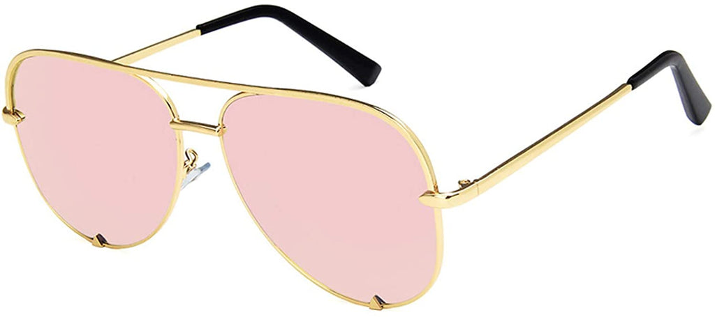 Brand Designer Aviator Sunglasses for Women Classic Oversized Pilot Sun Glasses UV400 Protection