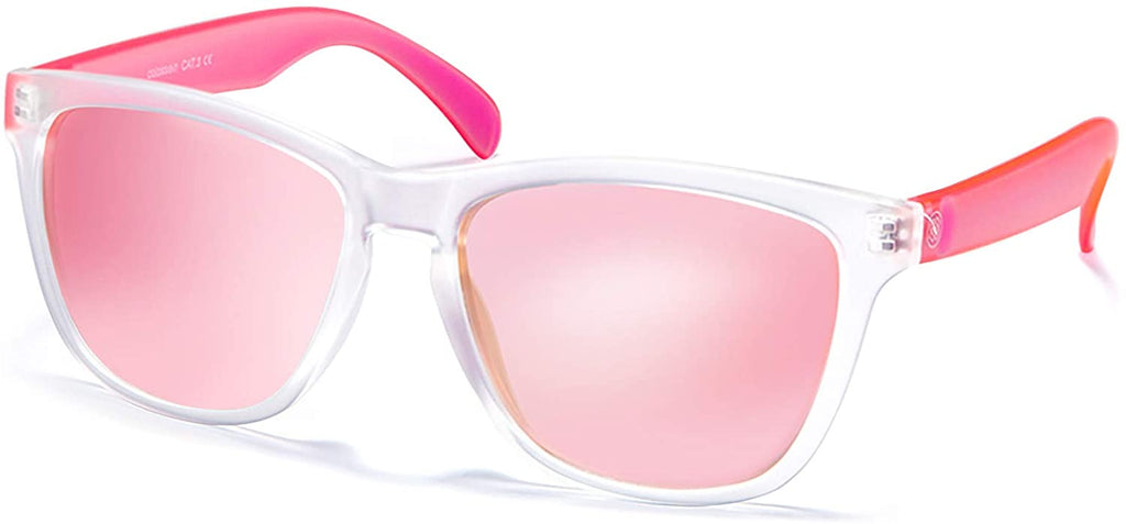 Sunglasses for Women,100% UVA/UVB Protection Mirrored Lens,FDA Standard Glasses