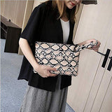 Oversized Clutch Bag Purse Pu Leather Evening Wristlet Handbag for women
