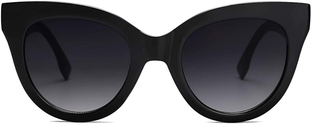 Retro Vintage Cateye Oversized Women Sunglasses Designer Glasses
