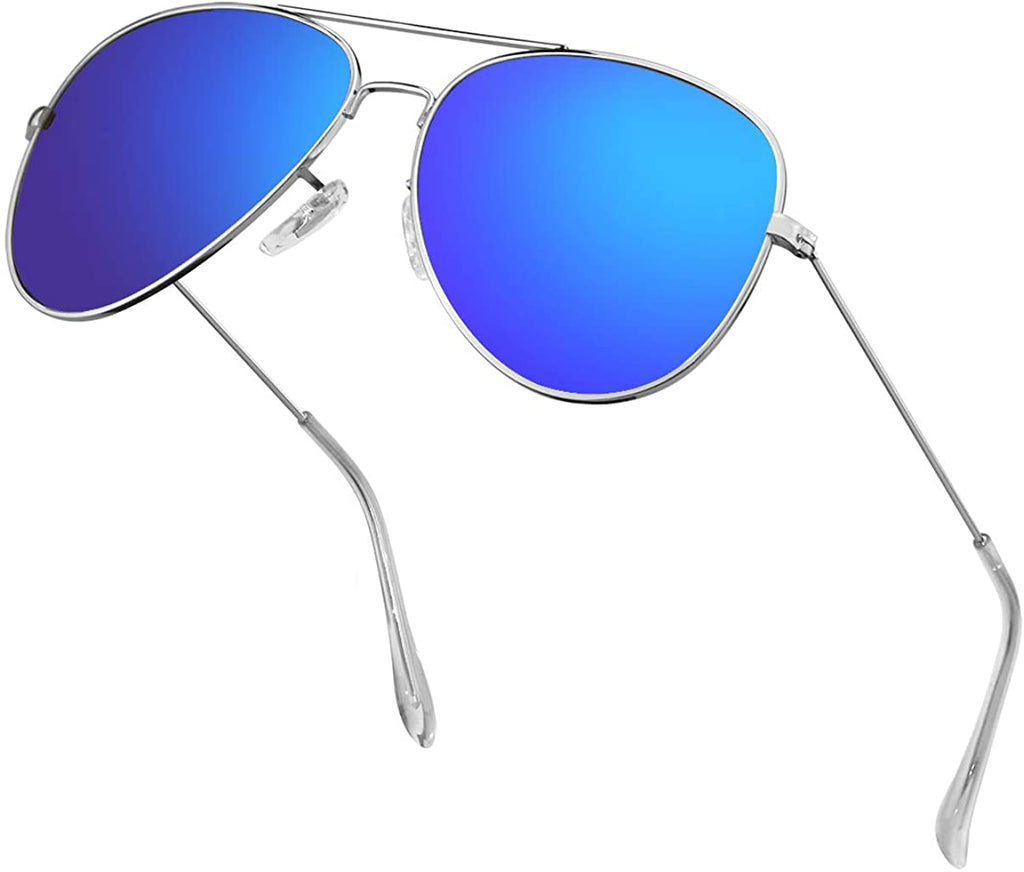 Aviator Sunglasses for Men/Women Metal Mens Sunglasses Driving Sun Glasses