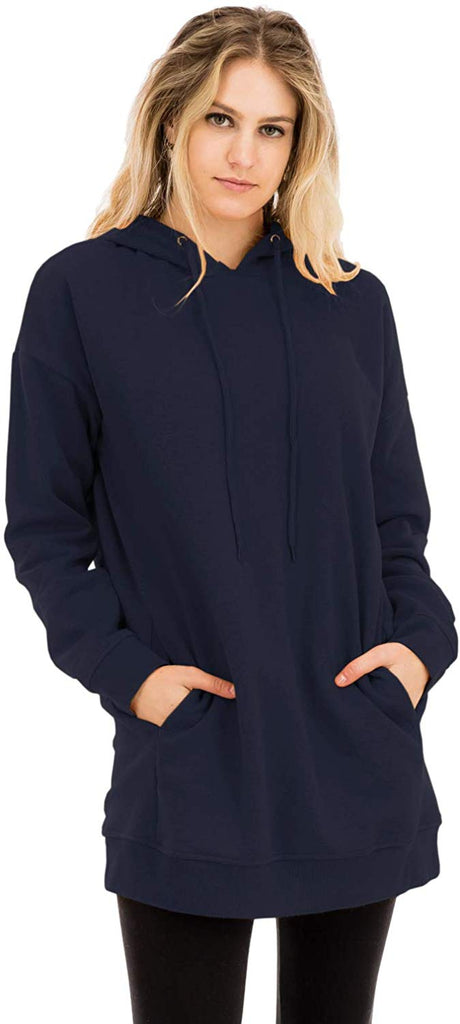 Women's Casual Loose Fit Long Sleeves Over-Sized Sweatshirts