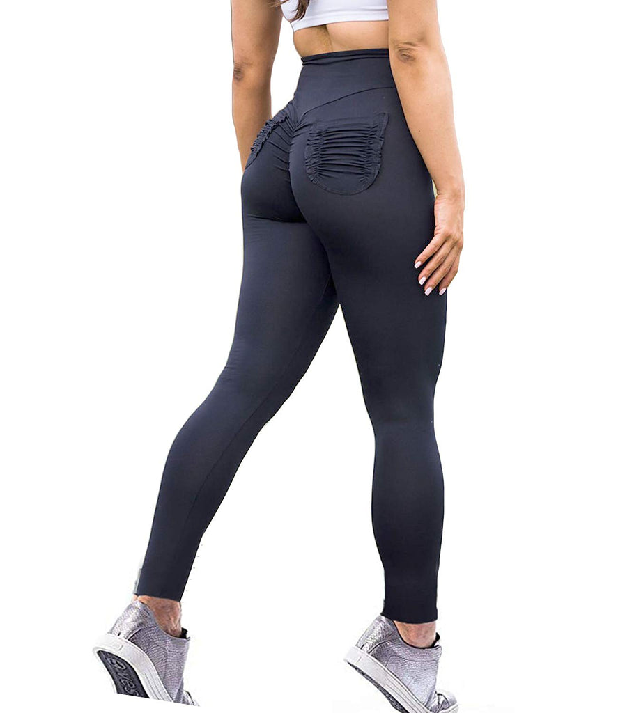 Scrunch Butt Yoga Pants High Waist Sport Workout Leggings Trousers Tummy Control Tights