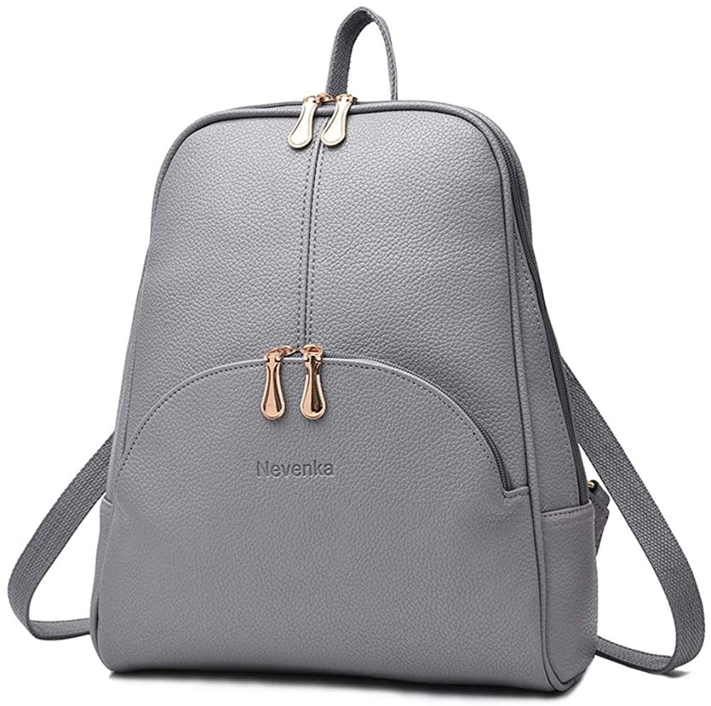 Brand Women Bags Backpack Purse PU Leather Zipper Bags Casual Backpacks Shoulder Bags