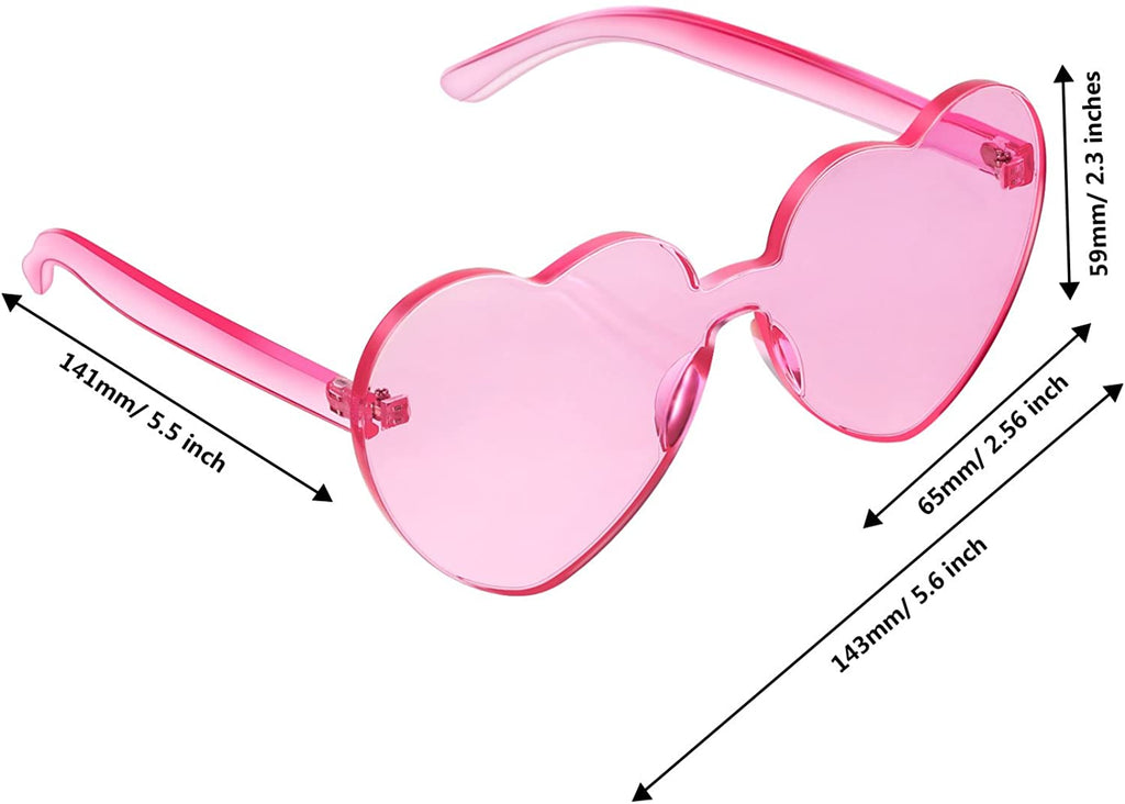 Heart Shape Sunglasses Party Sunglasses