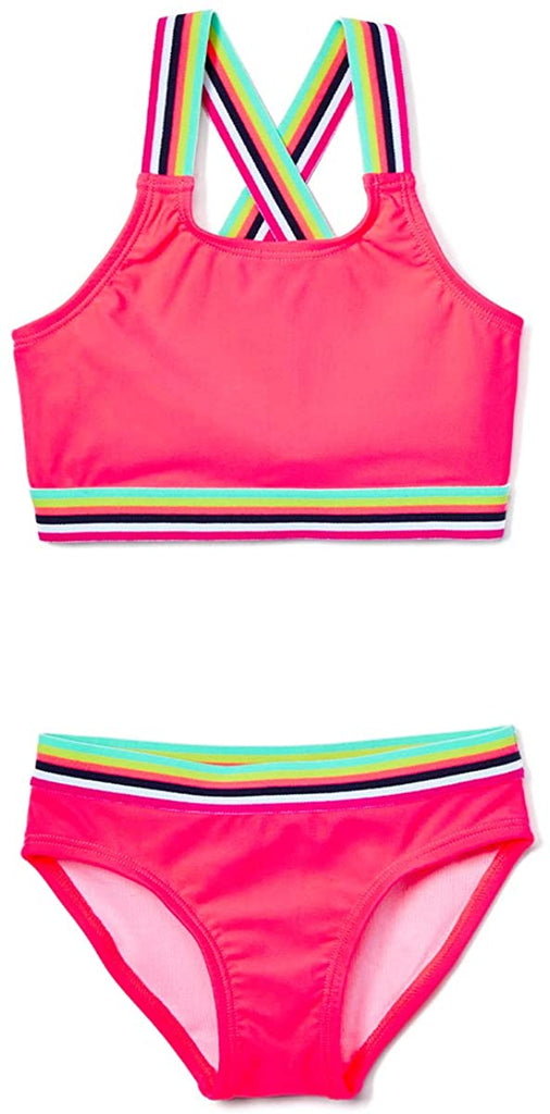 Girls' Tanya UPF 50+ Beach Sport Athletic Bikini Swimsuit