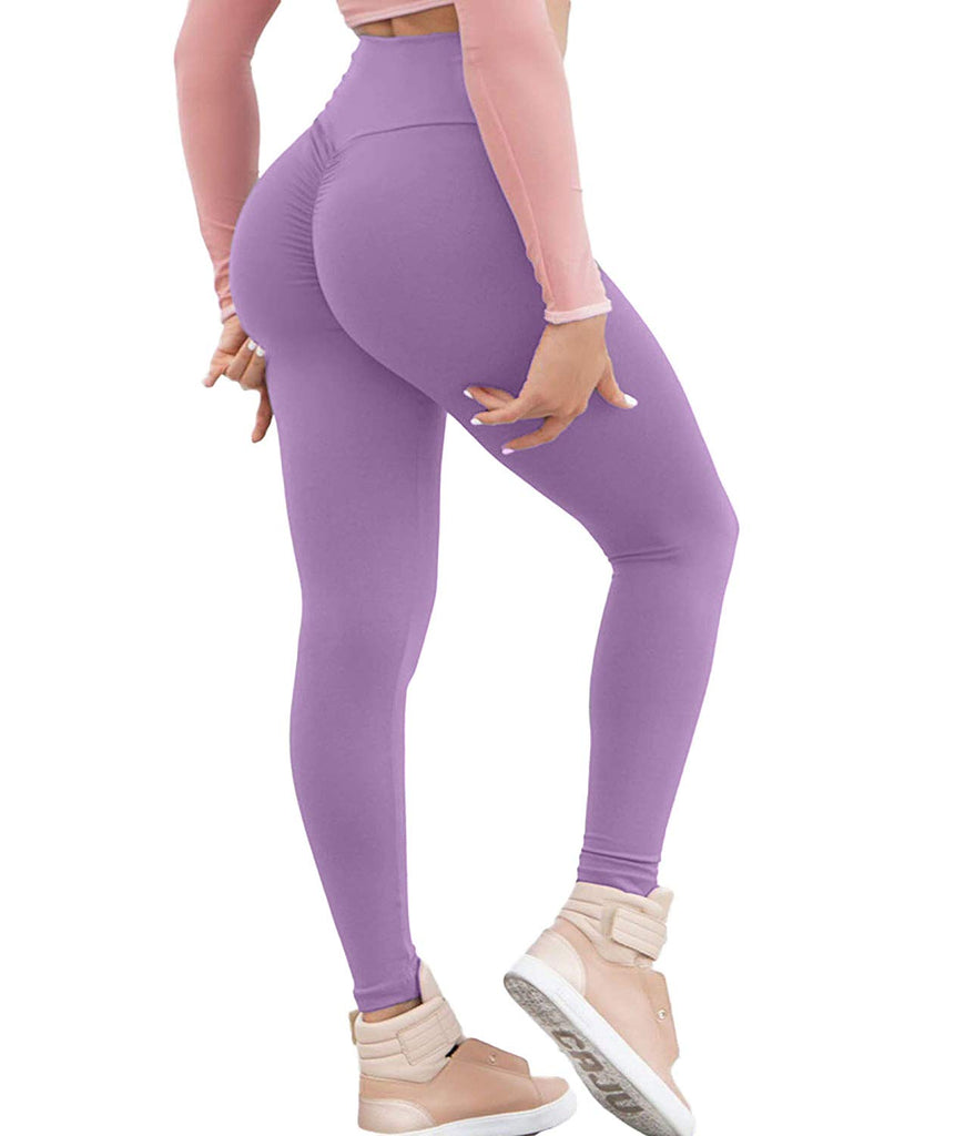 Women Yoga Pants High Waist Sport Workout Leggings Trousers Tummy Control Tights