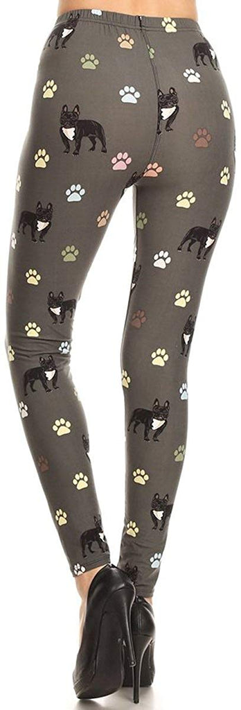 Depot Women's Ultra Soft Printed Fashion Leggings BAT18