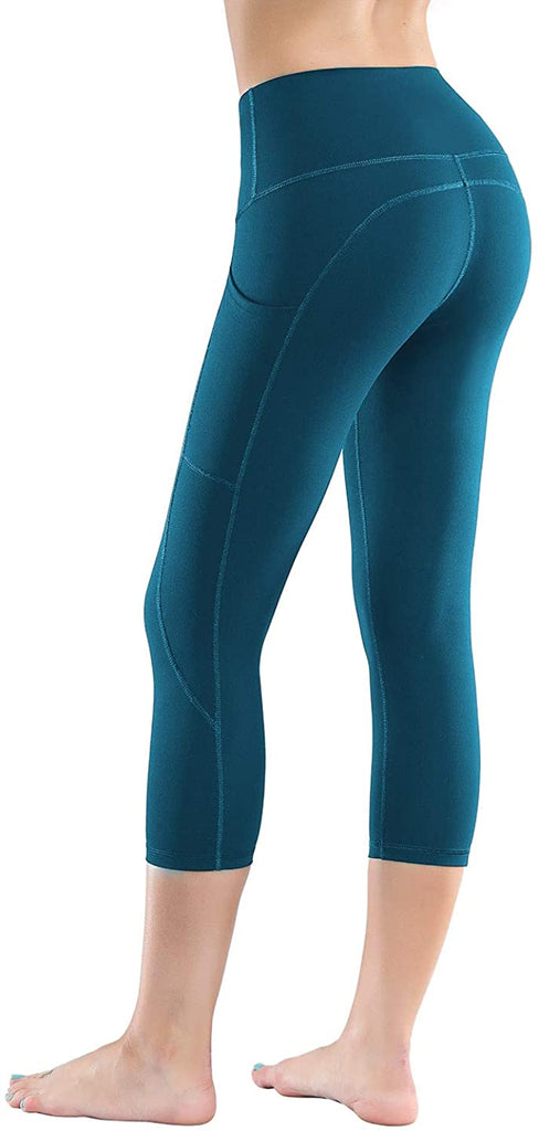 Workout Leggings for Women with Pockets Tummy Control Soft Pants High Waist Yoga Pants