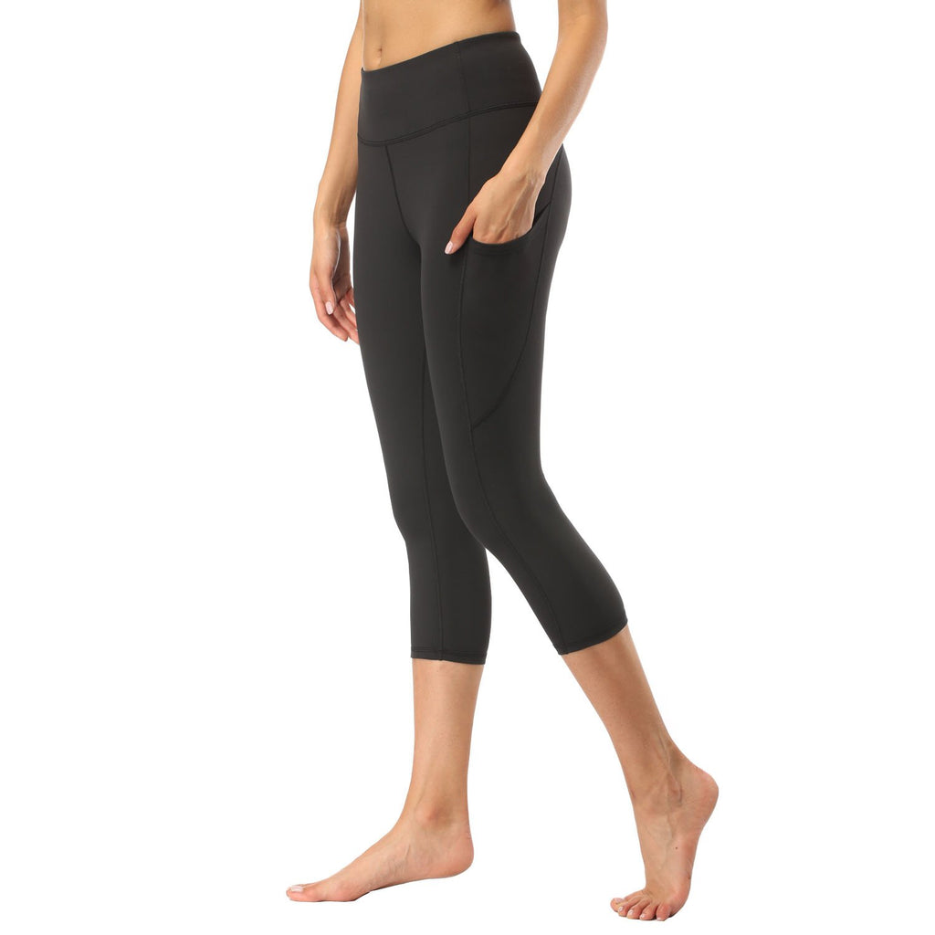 High Waist Yoga Pants Workout Sport Leggings for Women with Pockets - Not See Through