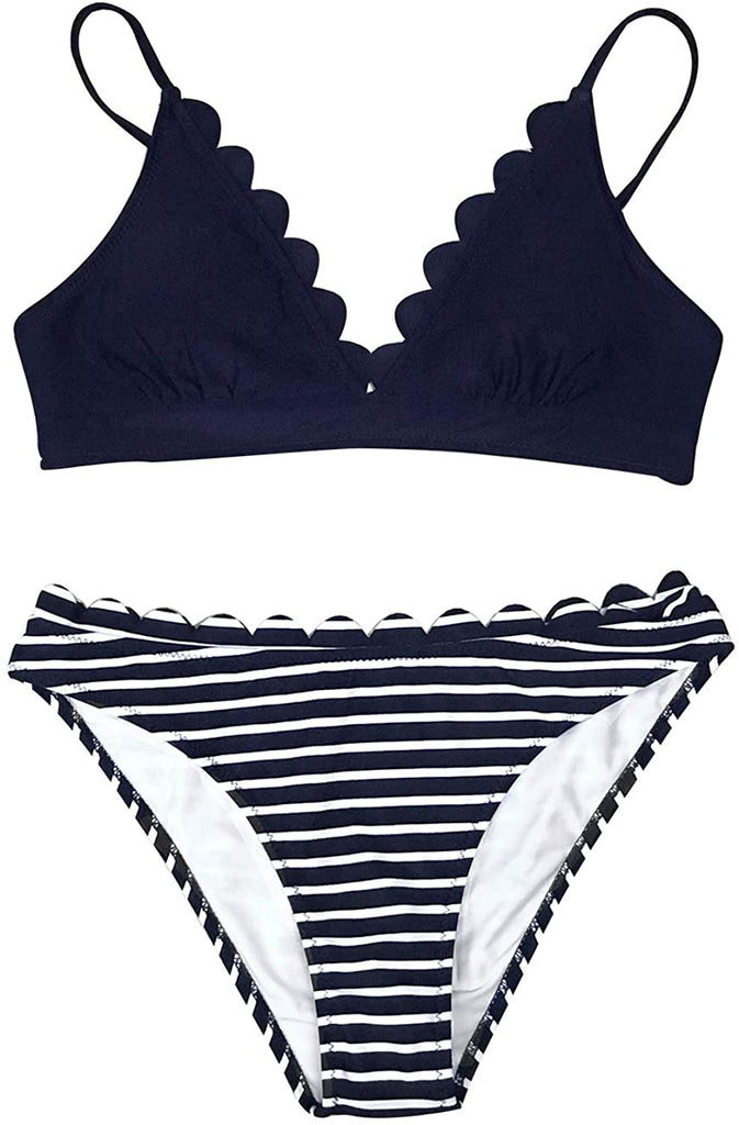 Women's Scalloped Trim in The Moment Bikini