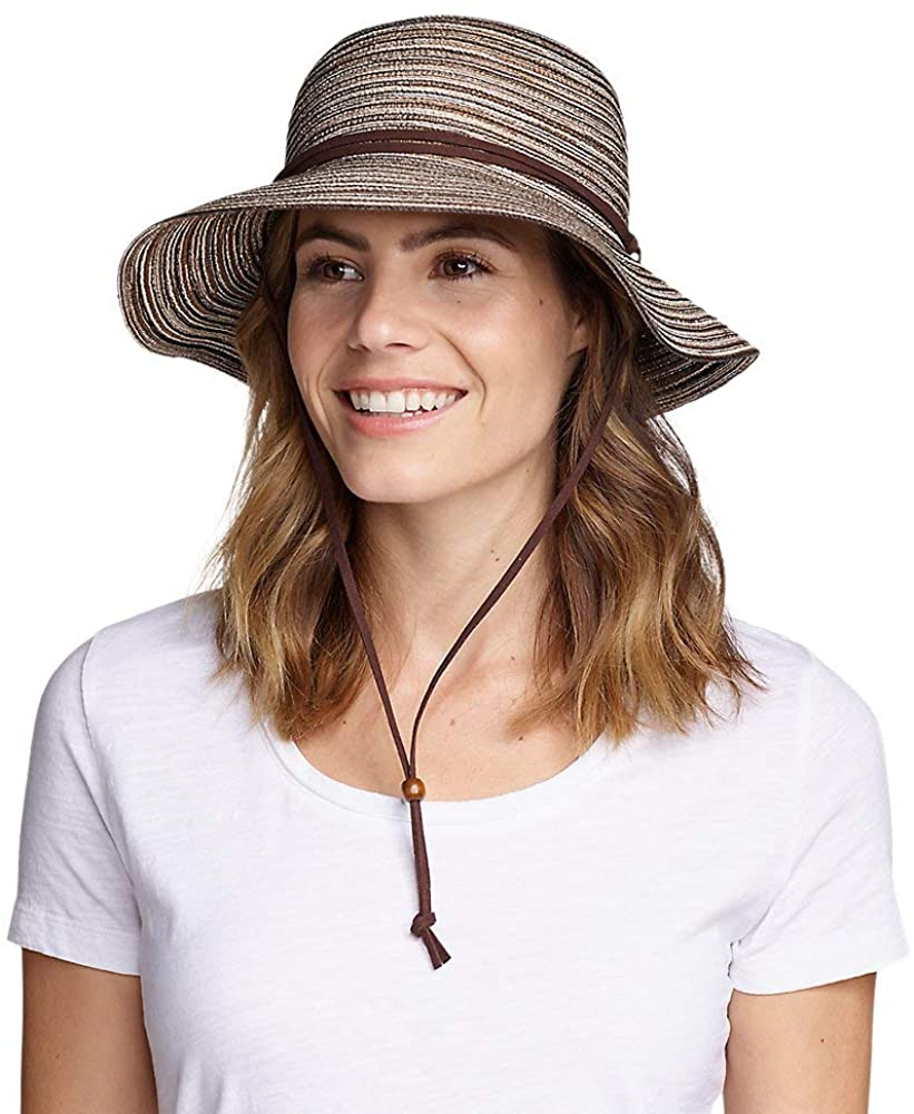 Women's Packable Straw Hat - Wide Brim