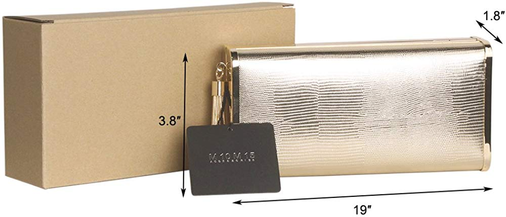 Women  Evening Clutch Purse Handbag in Hardcase  for Party