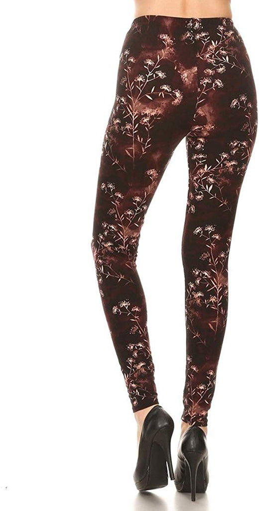 Women's Fall/Winter Ultra Soft Printed Fashion Leggings BAT16