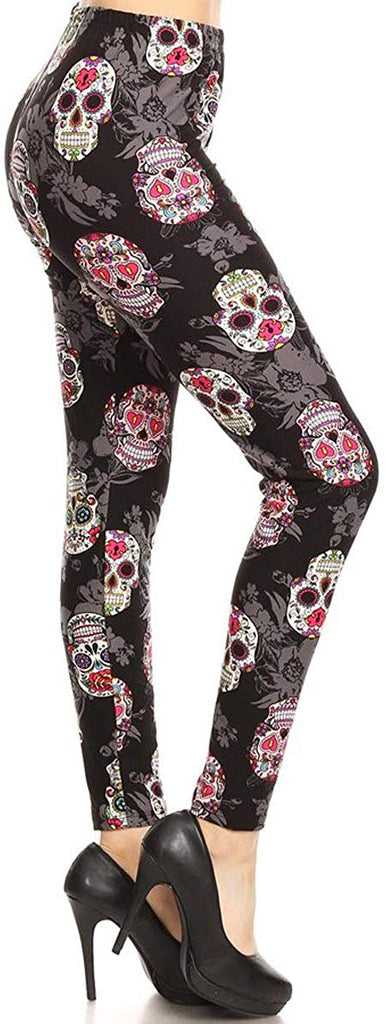 Women's Ultra Soft Printed Fashion Leggings BAT18