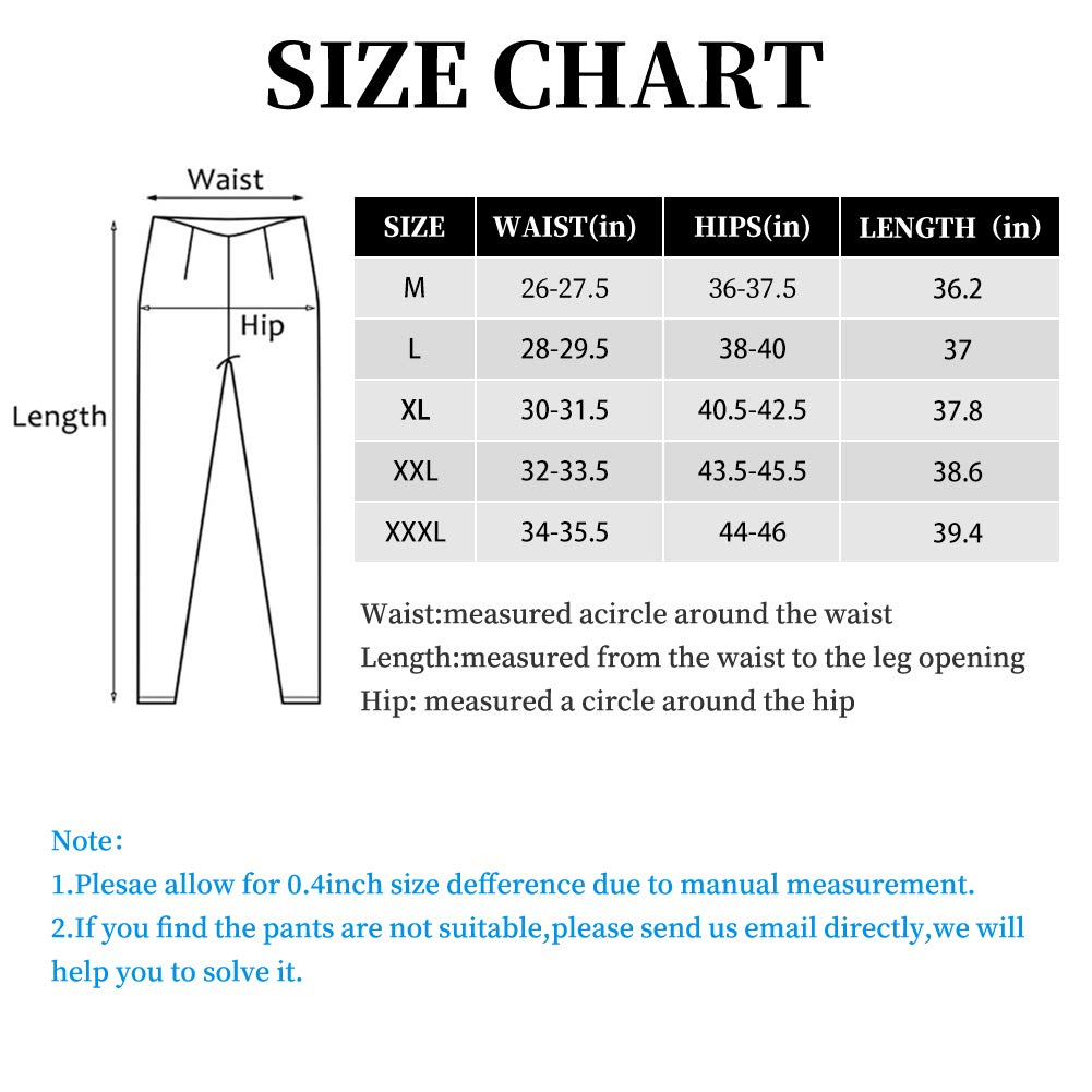 7TH SUMMER Non-See-Through Yoga Pants with Pocket, Ankle Length Black Leggings for Women