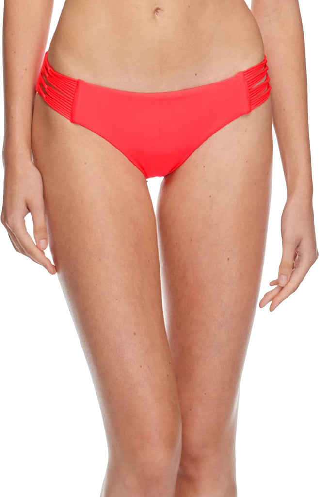 Women's Bottom Swimsuit  Smoothies Ruby Solid Bikini