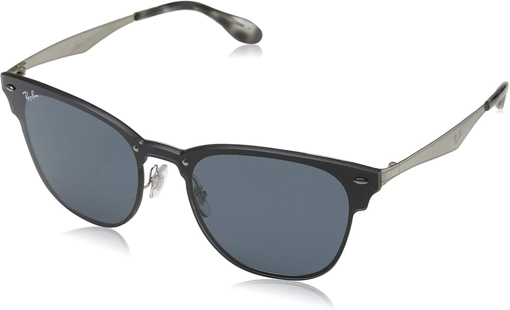Blaze Clubmaster Sunglasses,47mm,Brushed