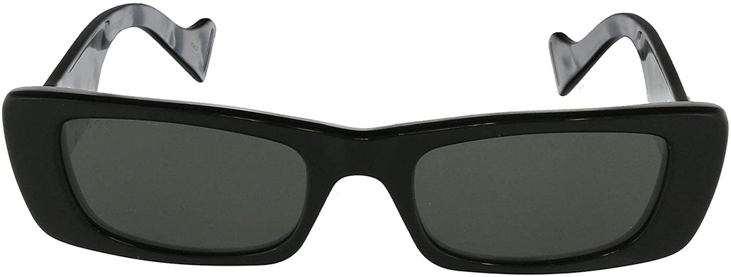 Women's Shinny Sunglasses with Plastic Frame