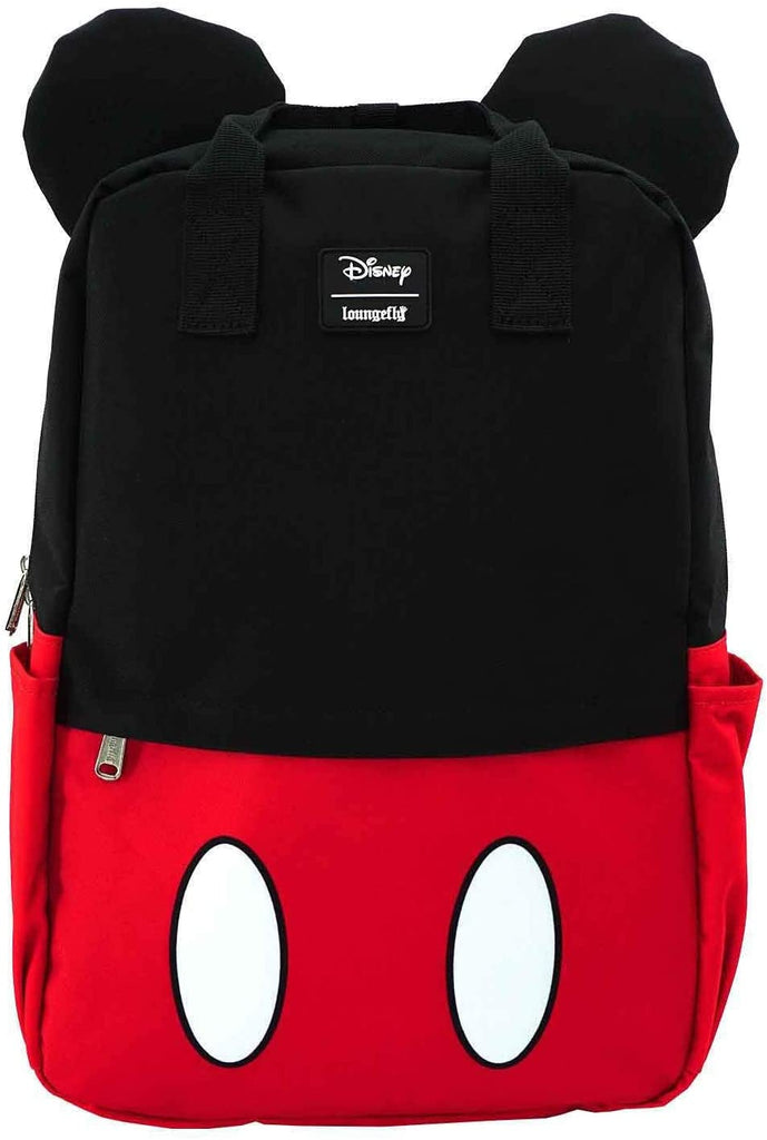 Mickey Mouse Cosplay Square Nylon Backpack (Red/Black/White One Size)