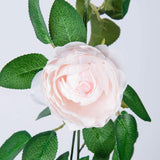 5 Pack 41 FT Artificial Flower Hanging Rose Ivy Home Hotel Office Wedding Party Garden Craft Art Décor Champagne