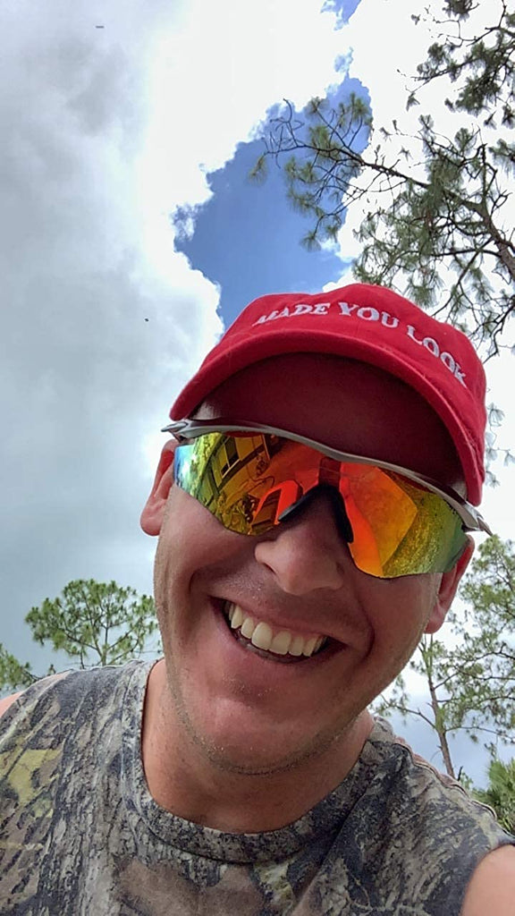 Made You Look Red Hat - The Original Joke Hat of 2020 | Hilarious Dad Gift Hat to Trigger a Smile