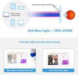 Blue Light Blocking Glasses, Computer Reading/Gaming/TV/Phones Glasses for Women Men,Anti Eyestrain & UV Glare