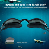 Swimming Goggles, G1 Polarized Swim Goggles UV Protection Watertight Anti-Fog Adjustable Strap