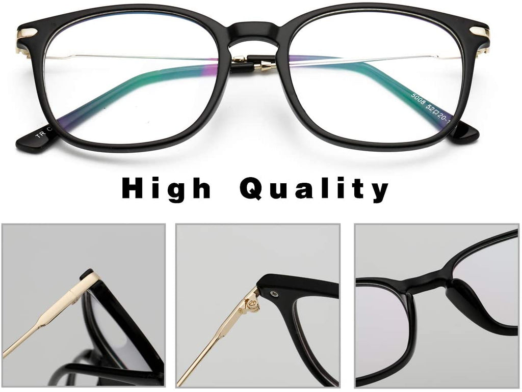 Classic Computer Blue Light Blocking Glasses TR90 Frame Gaming Glasses Unisex