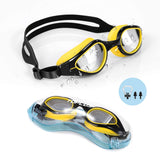 Swim Goggles, Goggles No Leaking Anti Fog UV Protection Swimming Goggles Triathlon for Men Women Youth Kids Child