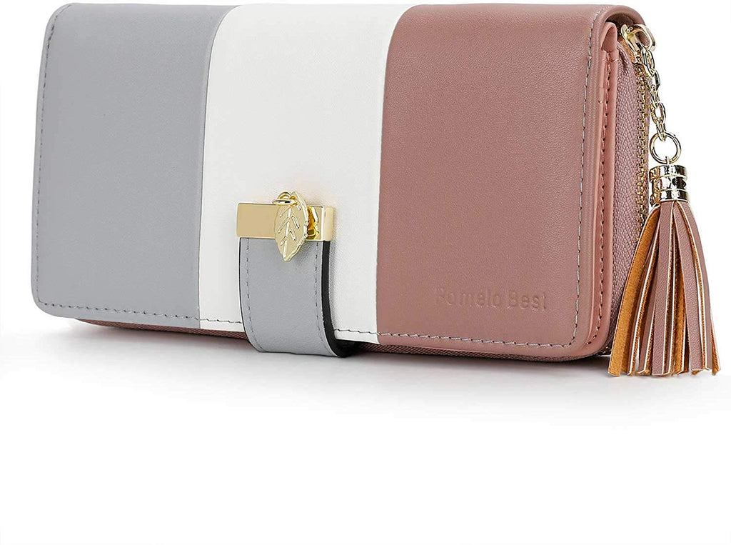 Women Wallets with Multiple Card Slots and Roomy Compartment