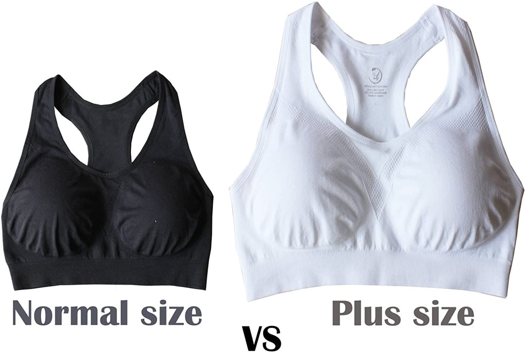 Women's Plus Size Ultimate Comfy Medium Support Sport Bra