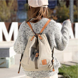 Chikencall 3 ways Women Canvas Purses Handbags Totes Shoulder Bag Backpack Hobo