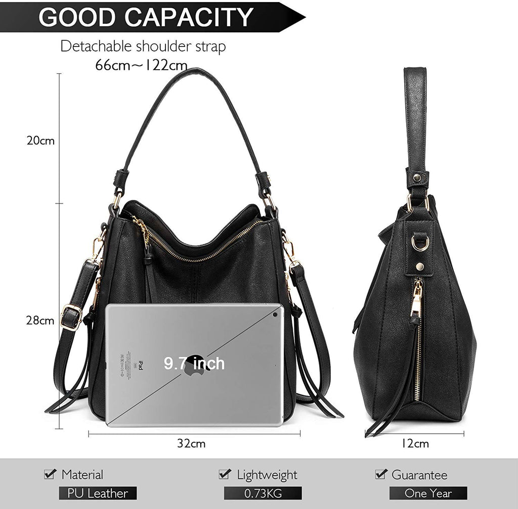 Shoulder Bags for Women Large Ladies Crossbody Bag with Tassel