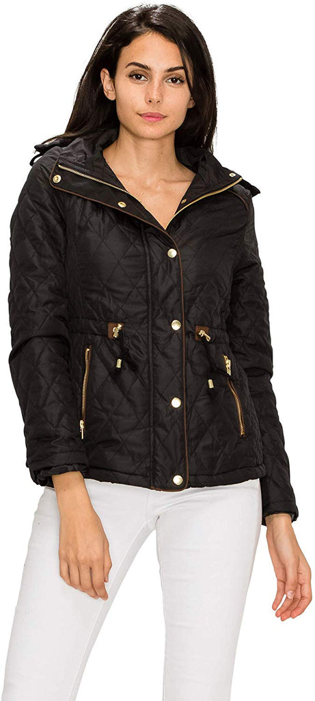 Casual Military Safari Anorak Jacket with Hoodie  Women's