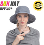 Mosquito Head Net Hat, Safari Hat Sun Hat with Hidden Net from Insects