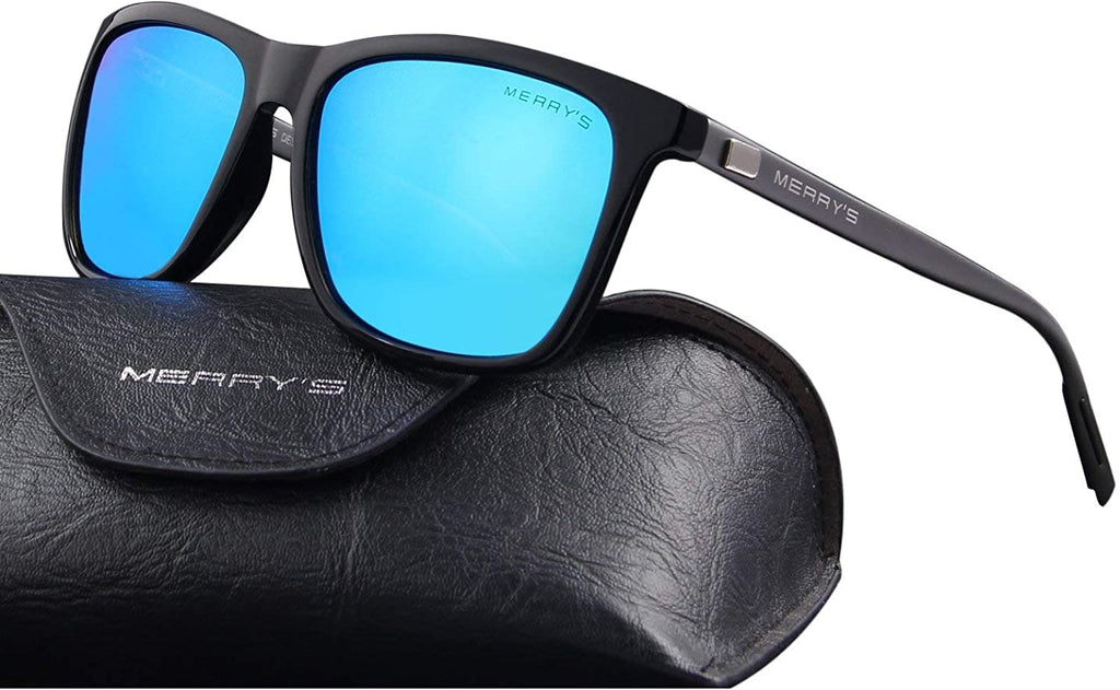 Unisex Polarized Aluminum Sunglasses Vintage Sun Glasses For Men/Women