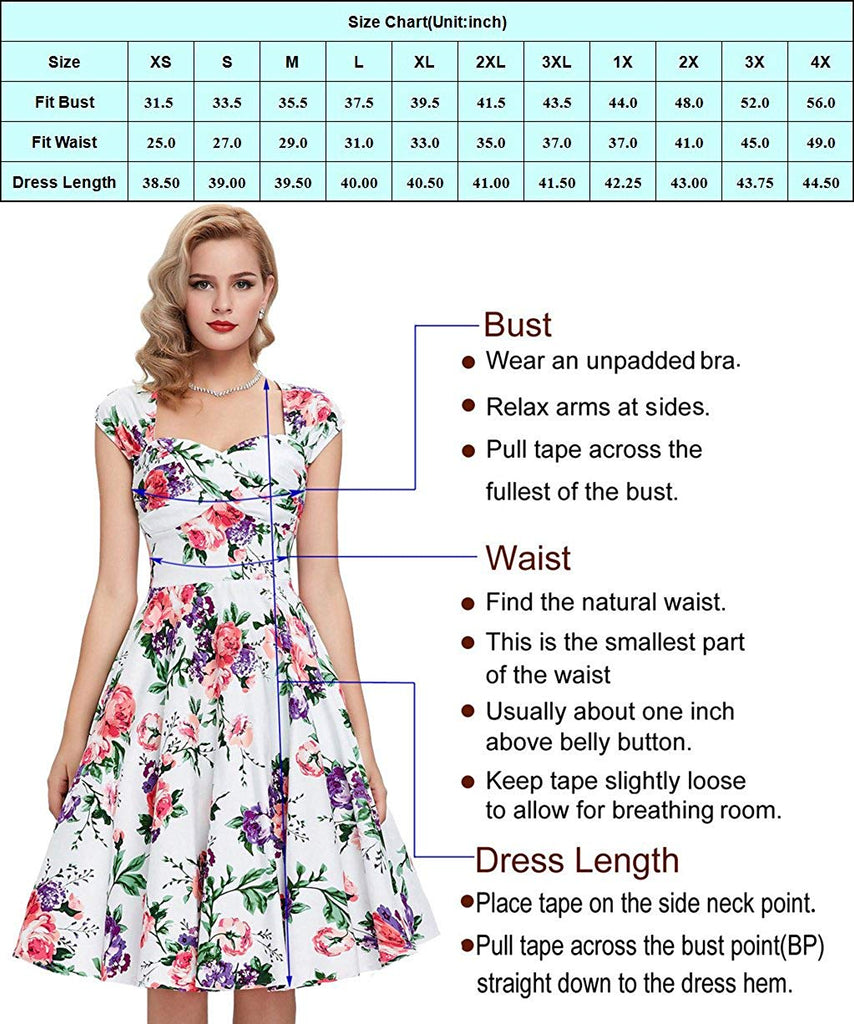 Authentic Dresses Boatneck Sleeveless Vintage Tea Dress with Belt