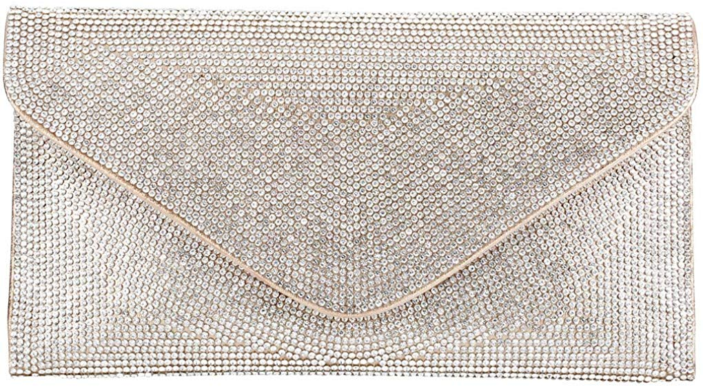 Evening Clutch Bridal Prom Handbag shoulder bag Wedding Purse Party Bag for women