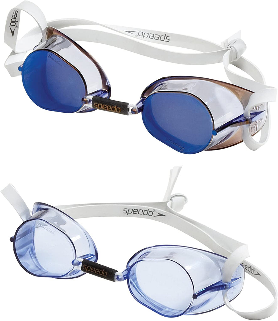 Swedish Two-Pack Swim Goggles (Blue)