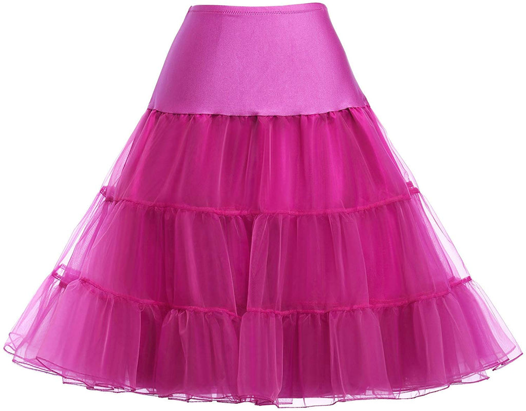 50s Petticoat Skirts Tutu Crinoline Underskirt CL8922 for women