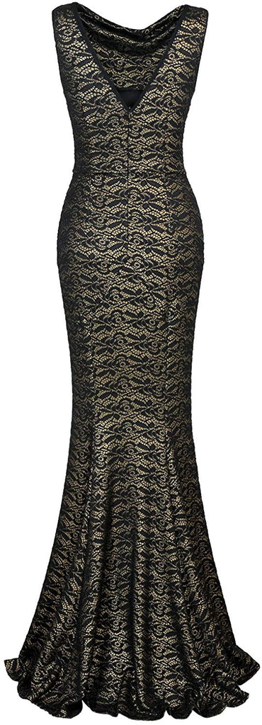 Women's 30s Brief Elegant Mermaid Evening Dress