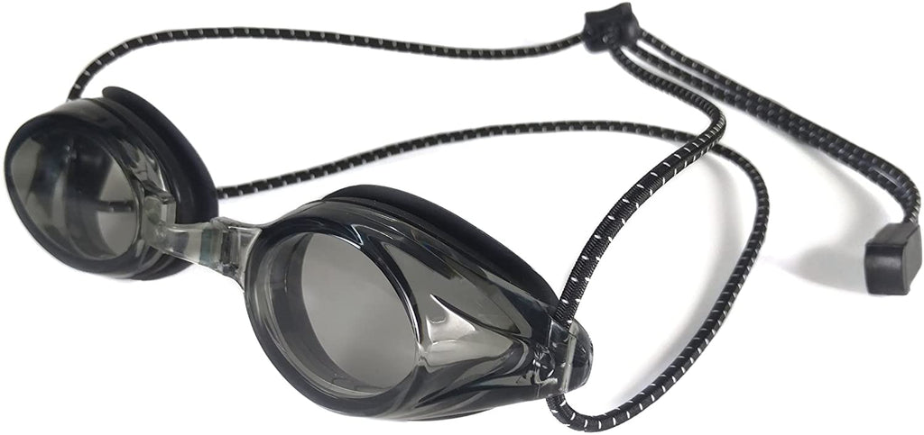 Sports Anti Fog Racing Swimming Goggles with Quick Adjust Bungee Strap