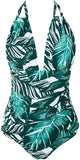 Women's Keep Secrets Halter One Piece Swimsuit Beach Swimwear