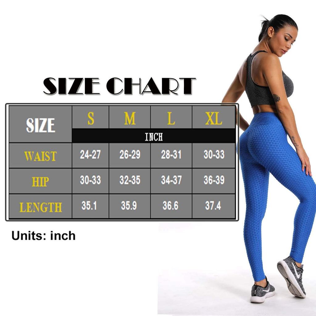 High Waist Yoga Pants Chic Sports Stretchy Leggings