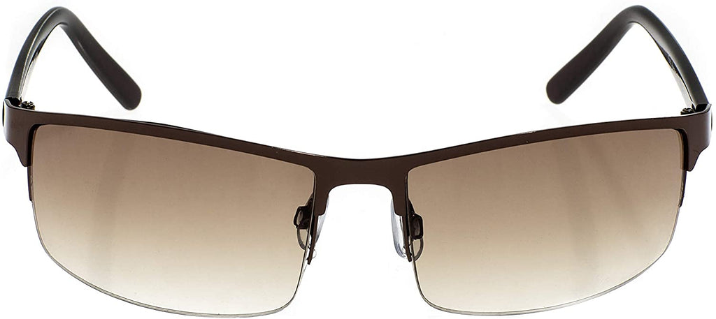 Collection First Avenue Wrap Around Metal Sunglasses