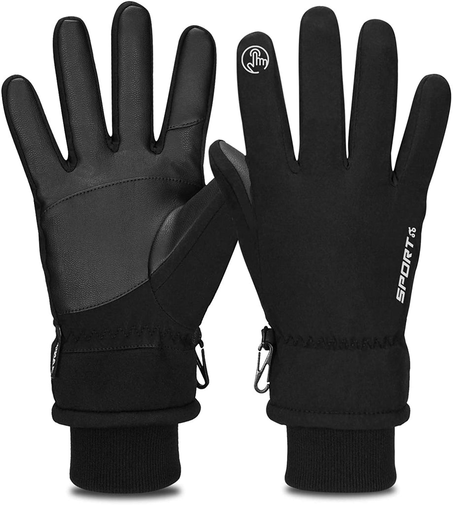 Yobenki Winter Gloves, -30°F Touch Screen Thermal Gloves Windproof Warm Gloves Men Women